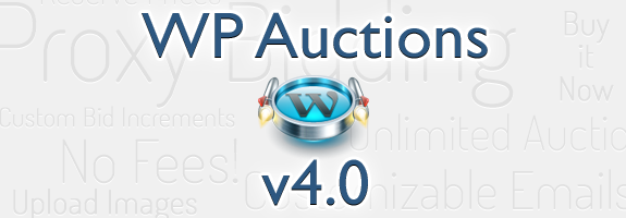 WP Auctions v4.0