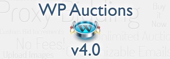 WP Auctions v4.0